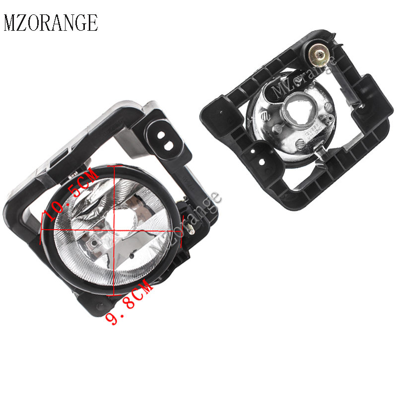 MZORANGE 2pcs Fog Lamps Front Bumper Fog Lights Driving Lamps For Honda Spirior 2008 2009 2010 Fog Light Fog Lamp Without Bulb in Car Light Assembly from Automobiles Motorcycles