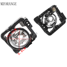 цена на MZORANGE 2pcs Fog Lamps Front Bumper Fog Lights Driving Lamps For Honda Spirior 2008 2009 2010 Fog Light Fog Lamp Without Bulb