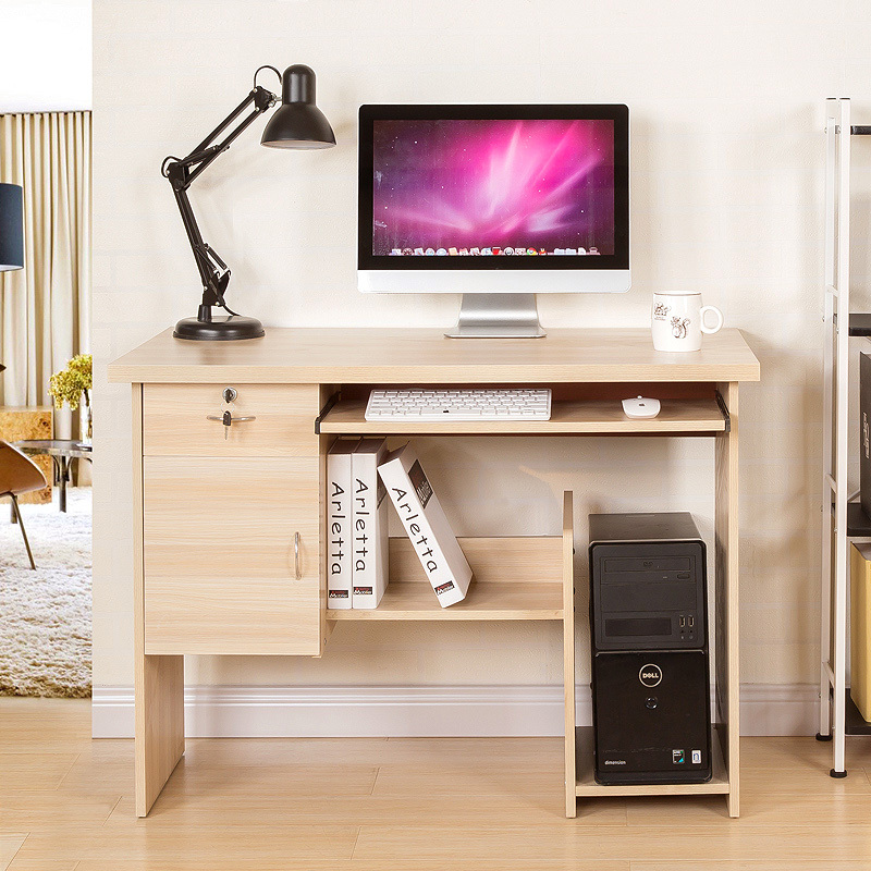 Resistance Simple Home Computer Desk Desktop Laptop Table With Modern Bookcases In Desks From Furniture On