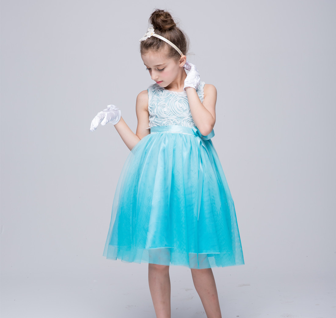 Girl Party Dress 2 3 4 5 6 7 8 9 10 11 Years Kids Clothes Summer ...