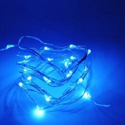 1-10 M de Fio de Cobre LED String luzes da noite Festa de Casamento luz iluminação Do Feriado Para Guirlanda Árvore de Natal de Fadas decoração