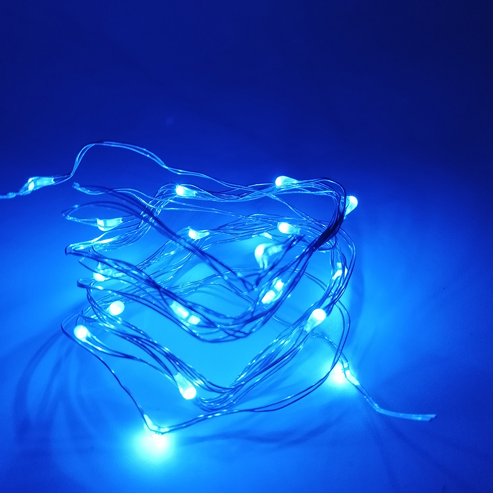 1-10M Copper Wire LED String lights night light Holiday lighting For Garland Fairy Christmas Tree Wedding Party Decoration 10m battery operated fairy lights led string garland curtain lamp for wedding indoor holiday lighting christmas tree luminaria
