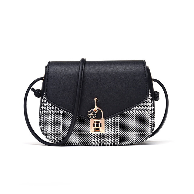 c531a0723c Women s Shoulder Bag PU Handbag Lattice Latch Cross Bag 2018 New Products  Hot Selling For Young Women To Deliver Quickly