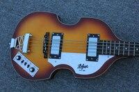 2017 New + Factory + Hofner Violin bass guitar BB2 Icon Series Hofner bass Free Shipping tobacco burst vintage hofner CT bass