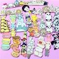 Kawaii Icon Harajuku Stacked Animal Pikachu Acrylic Brooch Clothes Badge Decorative Rozet Collar Scarf Lapel Pin Accessories
