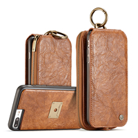 CaseMe Song Luxury Magnetic Flip Wallet Case For Iphone 7 7plus Case Leather Cover Capinha Coque