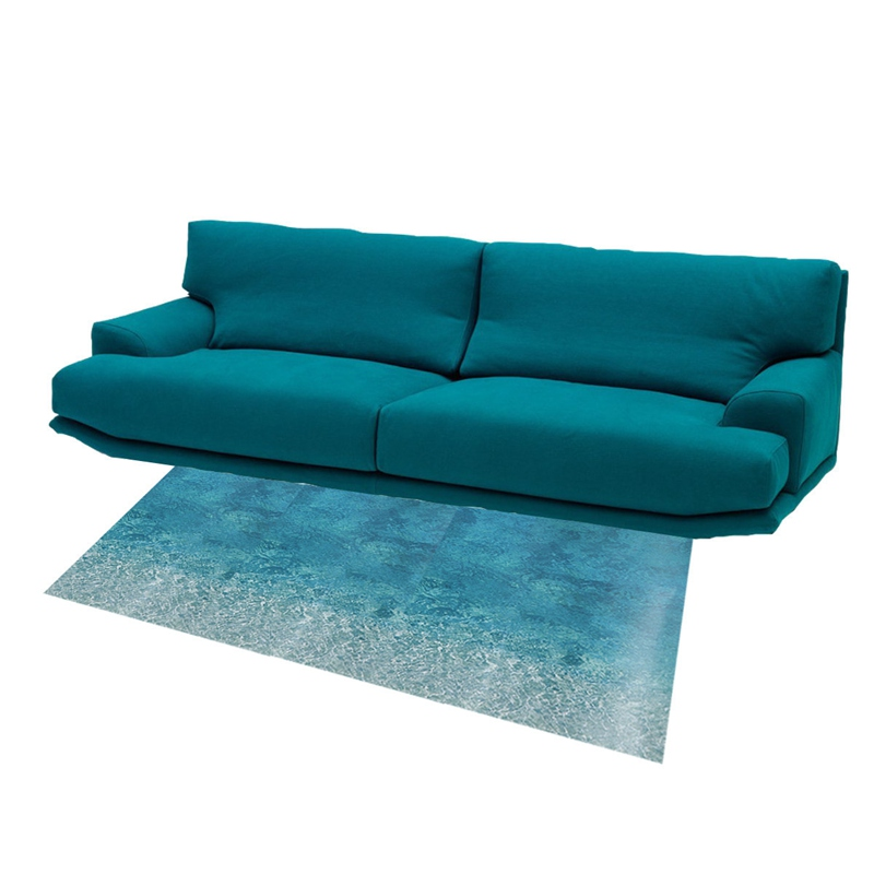 new removable diy blue ocean sea beach floor sticker decals living room bedroom home bathroom office beach office decor