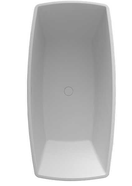 1600x800x630 ملليمتر الصلبة سطح الحجر cupc موافقة كوريان مات أبيض التشطيب حوض طليق حوض مستطيل RS65133