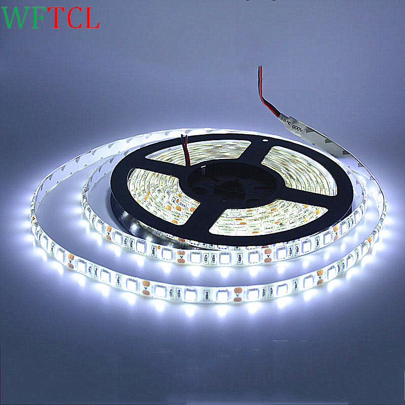 wholesale led light strips rgb waterproof led lights 12 volt strip led lights 3 chips double pcb cheap price led shop light