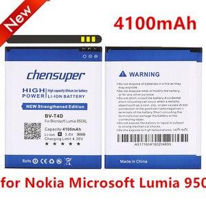 Аккумулятор chensuper для Nokia, аккумулятор для Nokia Microsoft Lumia 950 XL CityMan Lumia 940 XL, аккумулятор на 4100 мА · ч, аккумулятор для Nokia Microsoft Lumia 950 XL, аккумулятор ...