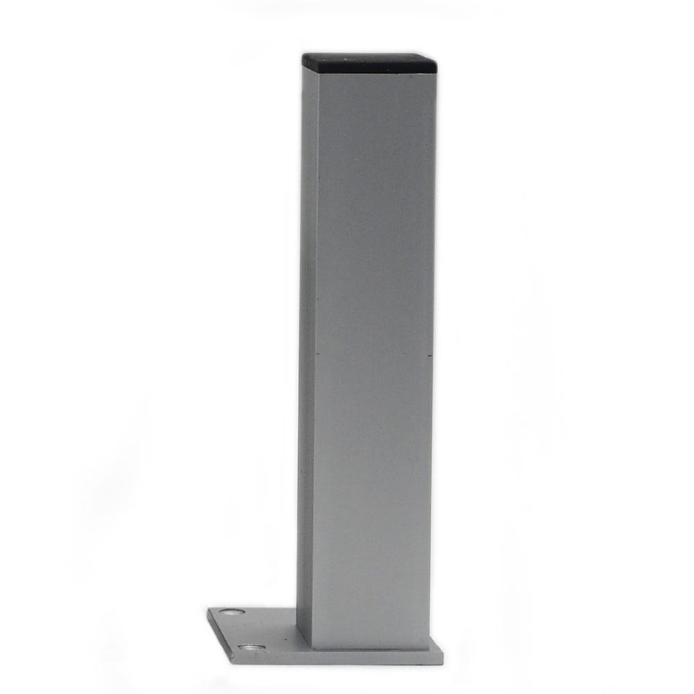 4pcs 20cm Aluminum Cabinet Feet Table Metal Furniture Legs ...