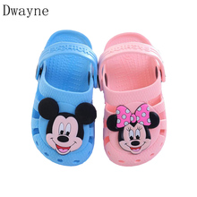 Baby Shoes Boys Girls Sandals 2018 Summer Shoes Kids Beach Sandals Cartoon Girls Baby Sandals Toddler Kids Shoes for 2 3 Years