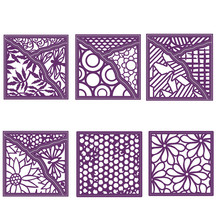 Hollowed Grids Flowers Covers Metal Cutting Dies for DIY Scrapbooking Paper Card making Decor Craft Embossing Stencil New 2019
