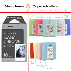 Image 3 - Fujifilm Instax Mini Film Monochrome 10 Sheets for Instax Mini 9 8 7s 70 90 25 Instant Polariod Camera Smartphone Printer SP 2 1
