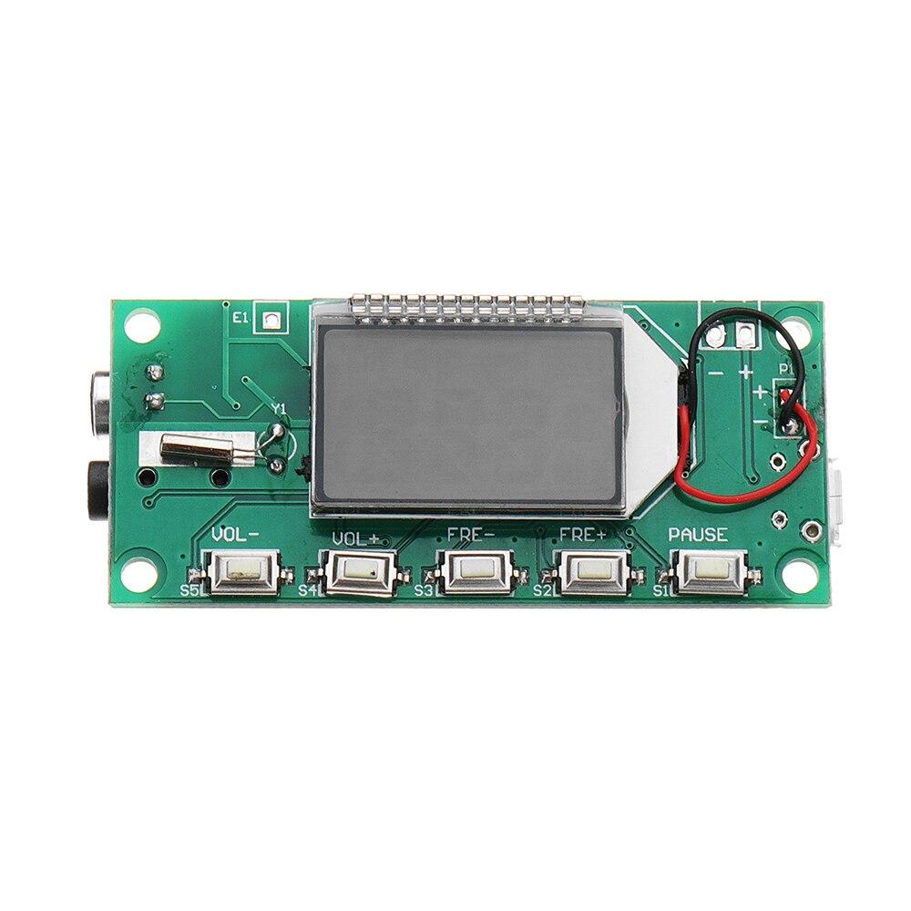 Großhandel Preis DSP PLL 87-108 mhz Digitale Drahtlose Mikrofon Stereo FM Emitter Modul Bord Akustische Komponenten