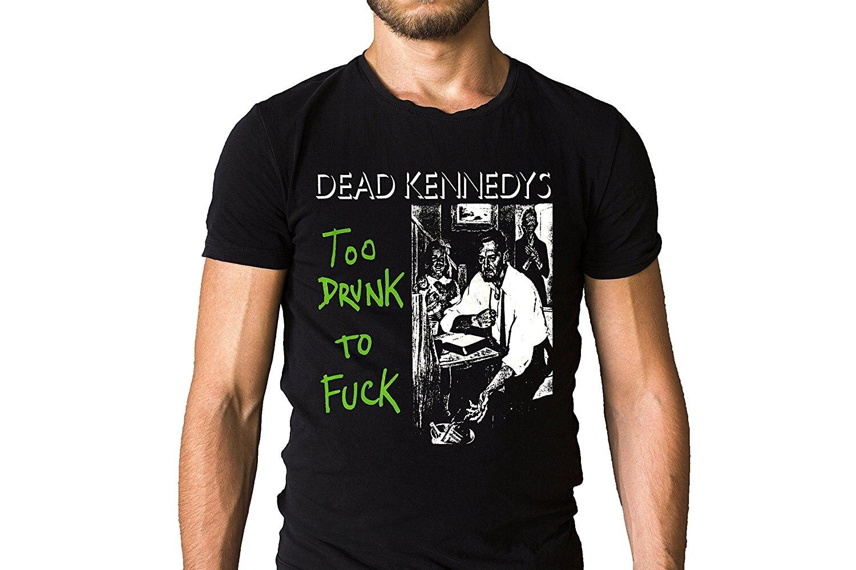Dead Kennedys Fresh Fruit For Rotting Vegetables 1980 Song Art Cover Black T-Shirt
