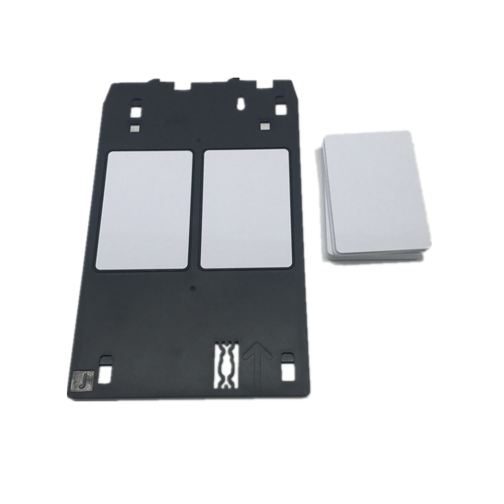 20pcs 85.6*54*0.45mm Size Blank Glossy Finish Printable Inkjet PVC Card Printing by Epson or Canon Printers