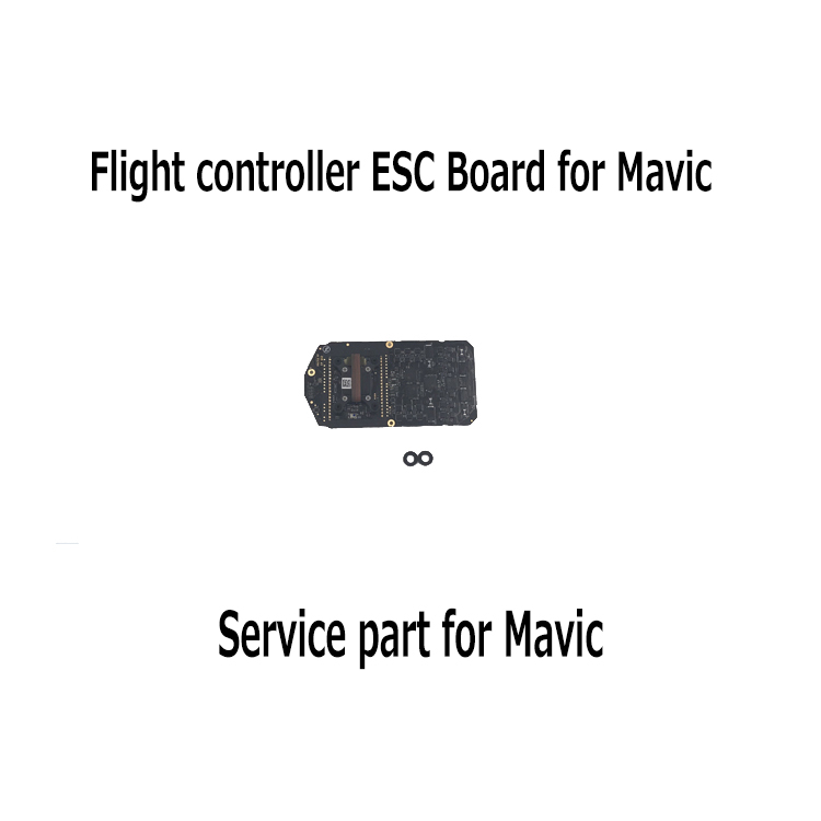 RC Camera Drone Parts Accessories Mavic Flight Controller ESC Board for DJI Mavic Pro Service Parts Accessories remote controller transmitter storage box for dji spark mavic pro
