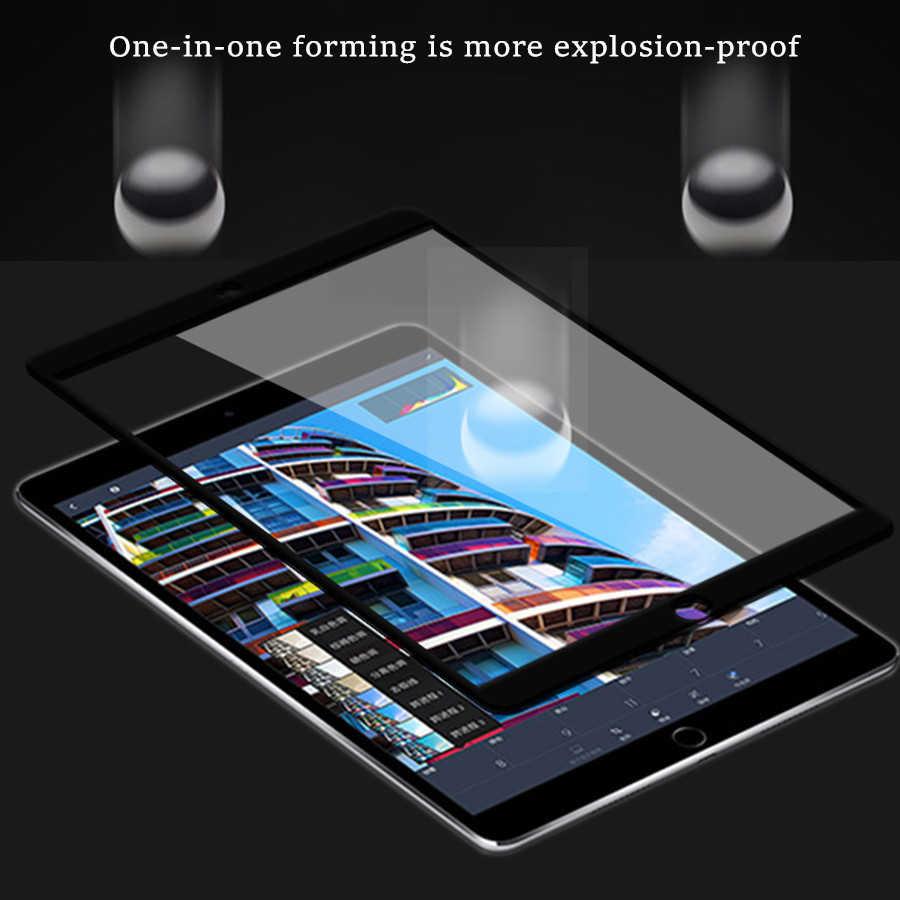 10D غطاء كامل أسود لباد البسيطة 5 البسيطة 4 7.9 ''الزجاج المقسى واقي للشاشة على ل أبل باد Mini4 mini5 طبقة رقيقة واقية