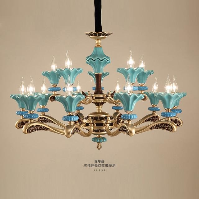 Ceramic chandelier moden e14 ac90 260v zinc alloy lamp body led ceramic chandelier moden e14 ac90 260v zinc alloy lamp body led chandeliers lighting for living aloadofball Images