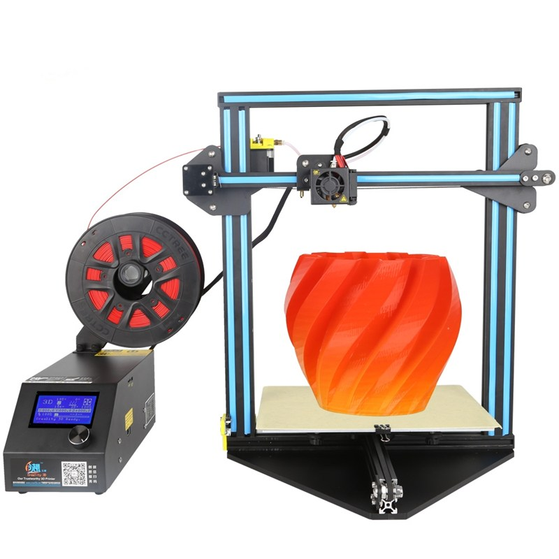 New Arrival Creality 3D CR-10 Mini DIY 3D Printer Kit Support Resume Print 300*220*300mm Printing Size 1.75mm 0.4mm Nozzle the resume kit