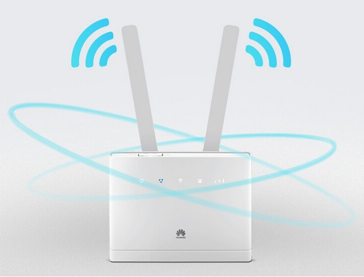 Unlocked Huawei B310 B310s-518 150Mbps 4G LTE CPE WIFI ROUTER Modem with 2pcs antennas(China)