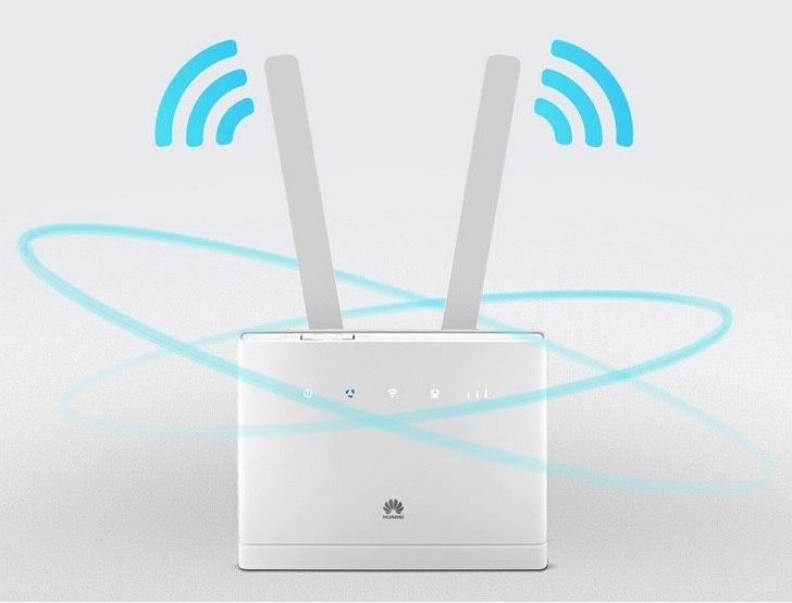 Débloqué Huawei B310 B310s-518 150 Mbps 4G LTE CPE WIFI ROUTEUR Modem avec 2 pcs antennes