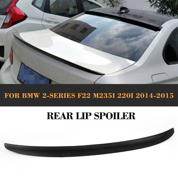 ABS Rear wing Spoiler for BMW F22 M235i 220i 228i 235i 2014 2015 2016 Auto Racing Car Styling Tail Trunk Lid Lip Wing
