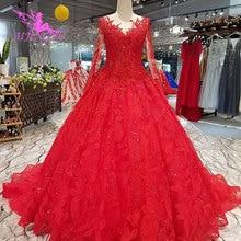 168684451 AIJINGYU الزفاف الكرة ثوب زي العرائس متجر عبر الإنترنت لبنان جميلة للبيع  رخيصة زائد مذهلة فساتين الزفاف