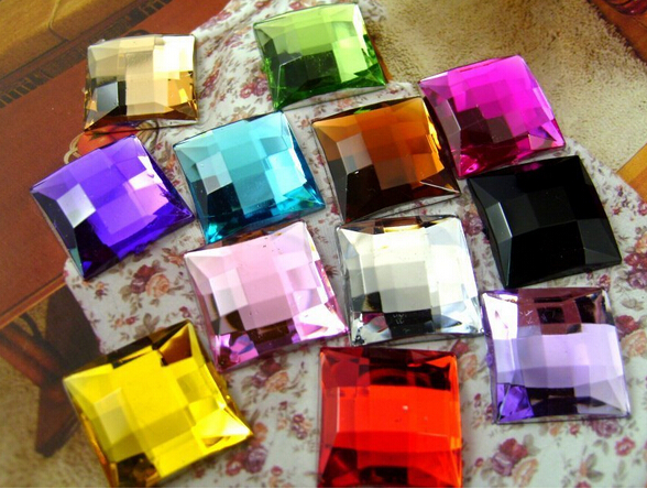 Acrylic Stones Manufacturers Mail: Aliexpress.com : Buy 10,000pcs/Bag 2*2mm Flat Back Square