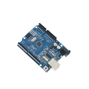 Image 3 - Voor Arduino Uno R3 CH340G MEGA328P Chip 16Mhz ATMEGA328P AU Development Board Geïntegreerde Schakelingen Kit Originele Case + Usb Kabel