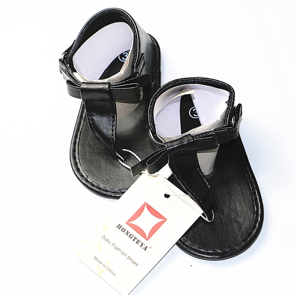 614ad4c25c925 HONGTEYA soft sole PU Leather Summer Baby Shoes Toddler Boy Girls sandals  Kids flip flops Newborn baby sandals Thongs Shoes-in Sandals from Mother    Kids on ...