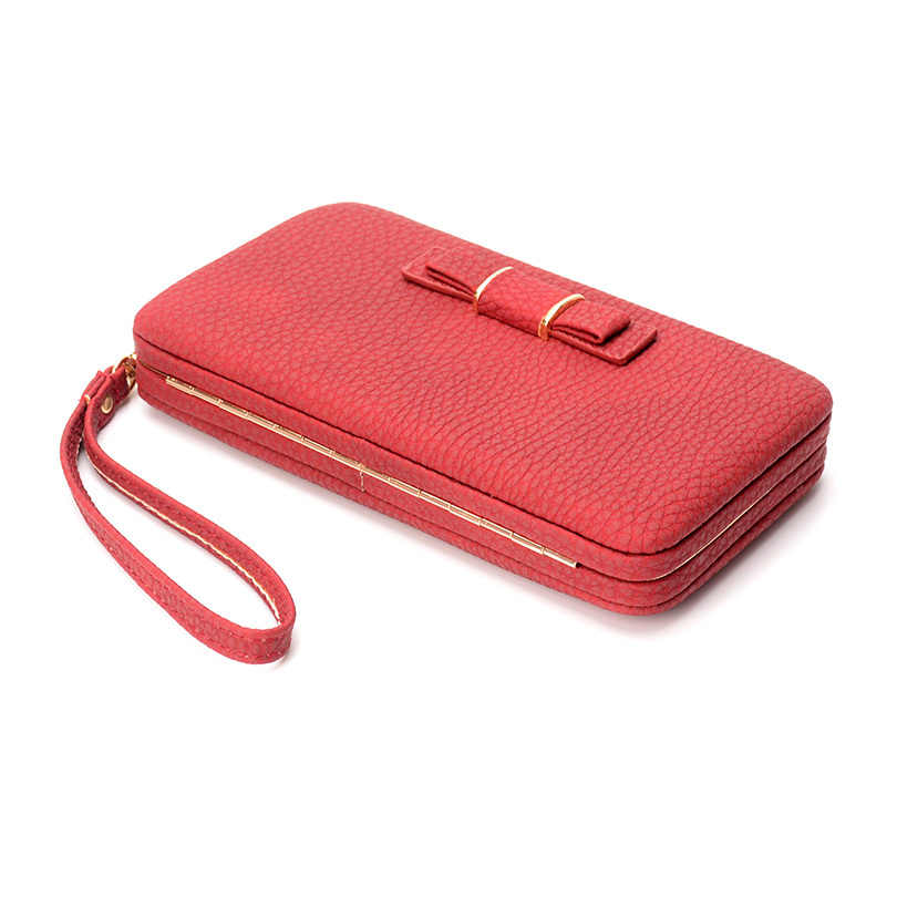Vintage Fashion Women Wallet long purse female high quality money bag female wallet card holders cellphone pocket money wallet