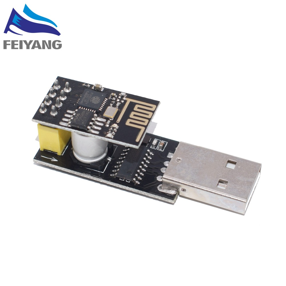 ESP01 Programmer <font><b>Adapter</b></font> UART GPIO0 ESP-01 Adaptaterr <font><b>ESP8266</b></font> CH340G USB to <font><b>ESP8266</b></font> Serial Wireless Wifi Developent <font><b>Board</b></font> Module image