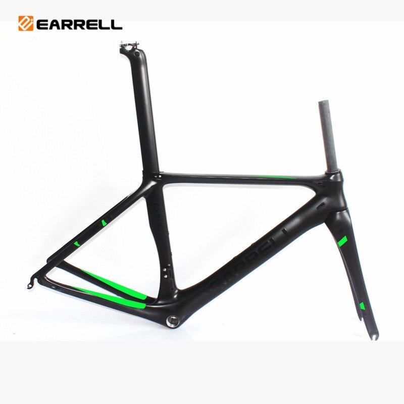 EARRELL T1000 cadre de vélo de route en carbone cadre de vélo graisse vélo/vélo brompton cadre cyclisme frameset fixe frameset