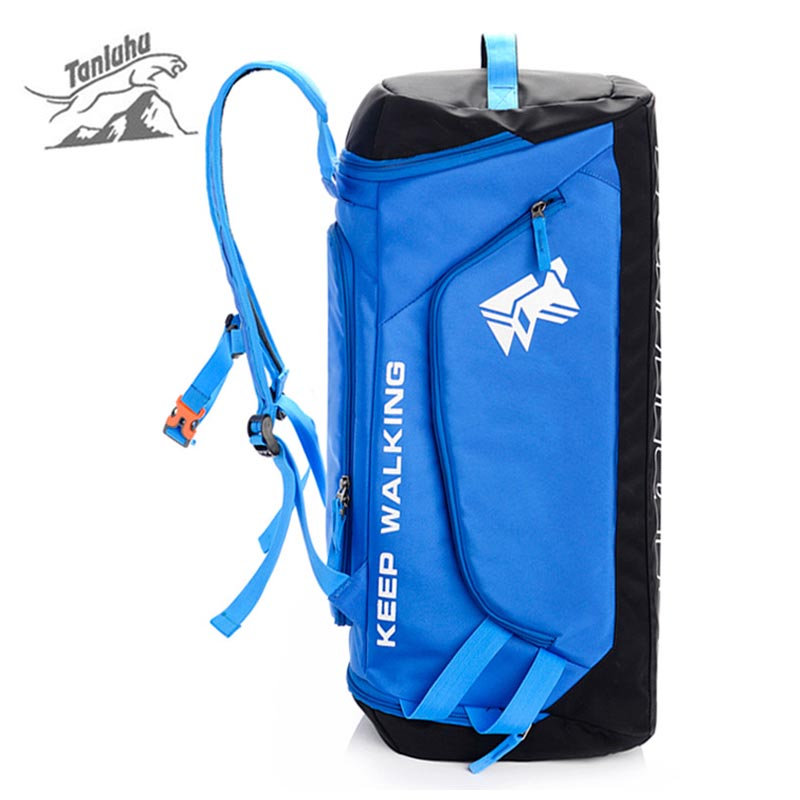 New Handbag Multi-functional Backpack Riding Running Climbing Bag Sports Outdoor Camping Bag  Women Men Training Gym Bag XA257WD multifunctional professional handle pulley roller gear outdoor rock climbing tyrolean traverse crossing weight carriage fit