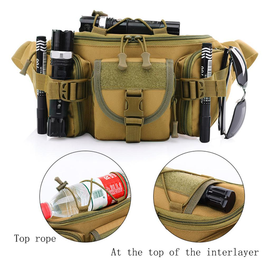 Camping & Hiking Mounchain Men Hiking Climbing Military Travel Waist Bag Outdoor Sports Cross Body Bags Chest Bag Climbing Bags