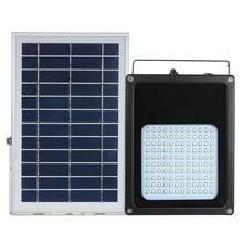 Светодиодный прожектор на солнечных батареях, 120 шт., светодиоды, солнечное освещение, водонепроницаемый, наружное освещение безопасности, солнечные панели, питание для дома/сада/газона