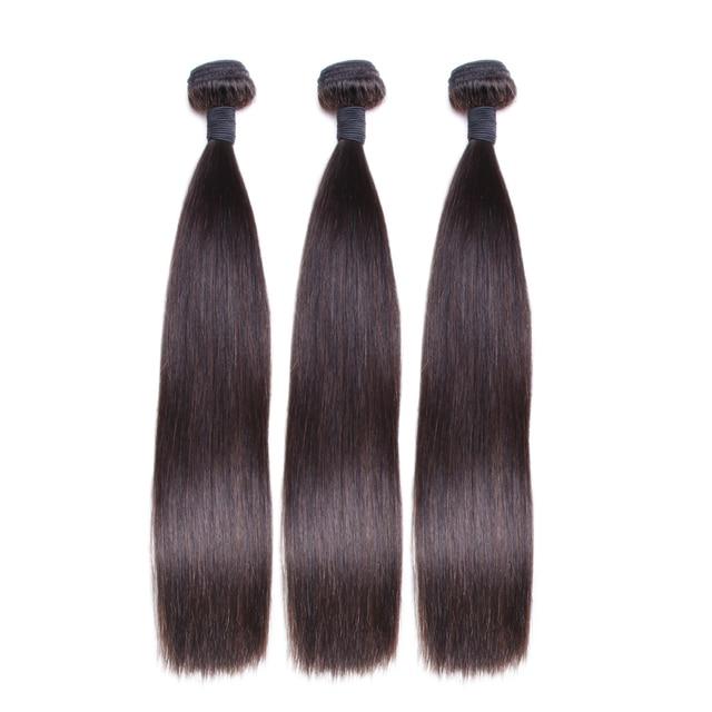 Bling Hair Malaysian Straight Raw Hair Extension Remy Human Hair 3