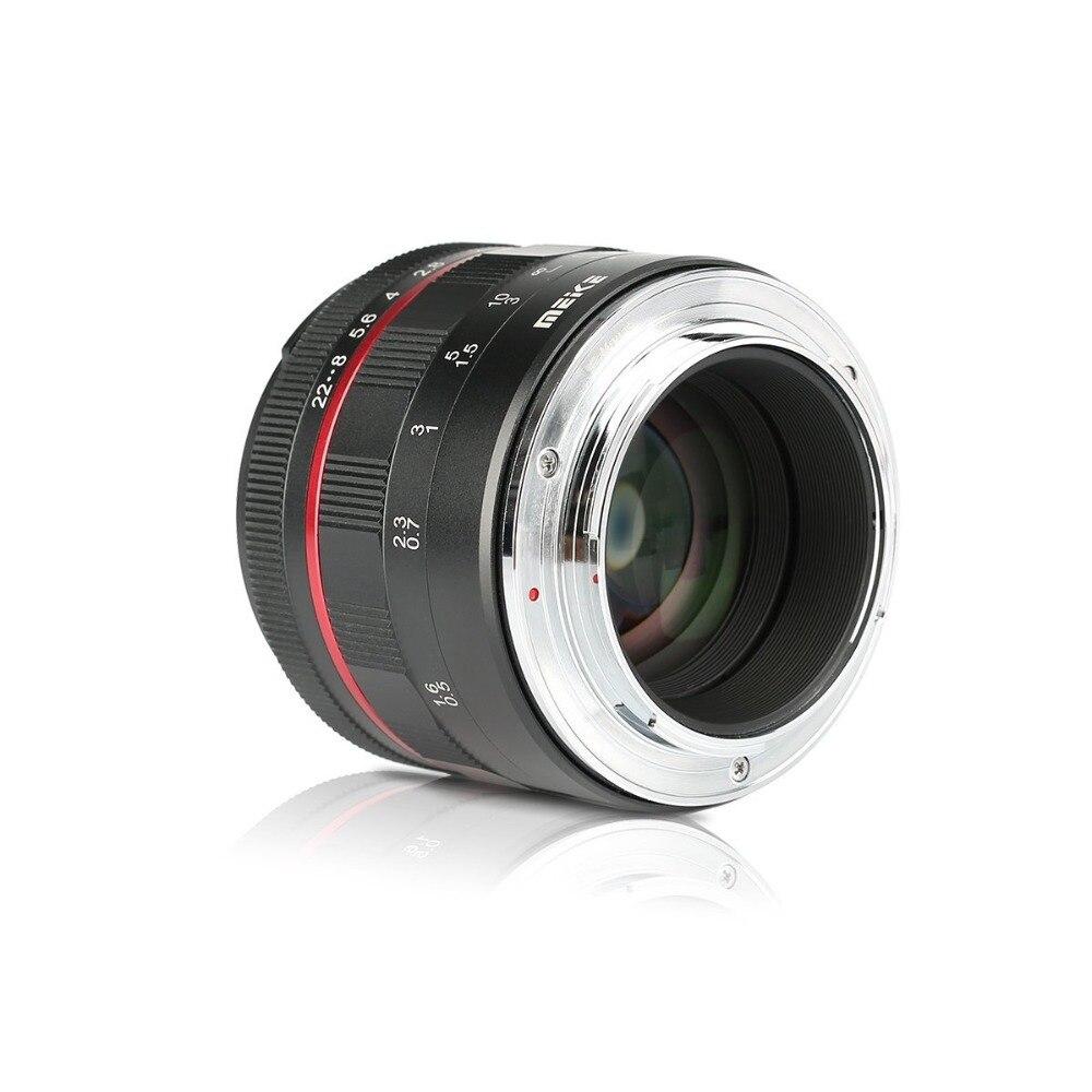 Meike 50mm f/1.7 objectif de mise au point manuelle à grande ouverture pour Canon EOS R mount/pour Nikon Z Mount Z6 Z7 appareils photo sans miroir + cadre complet - 4