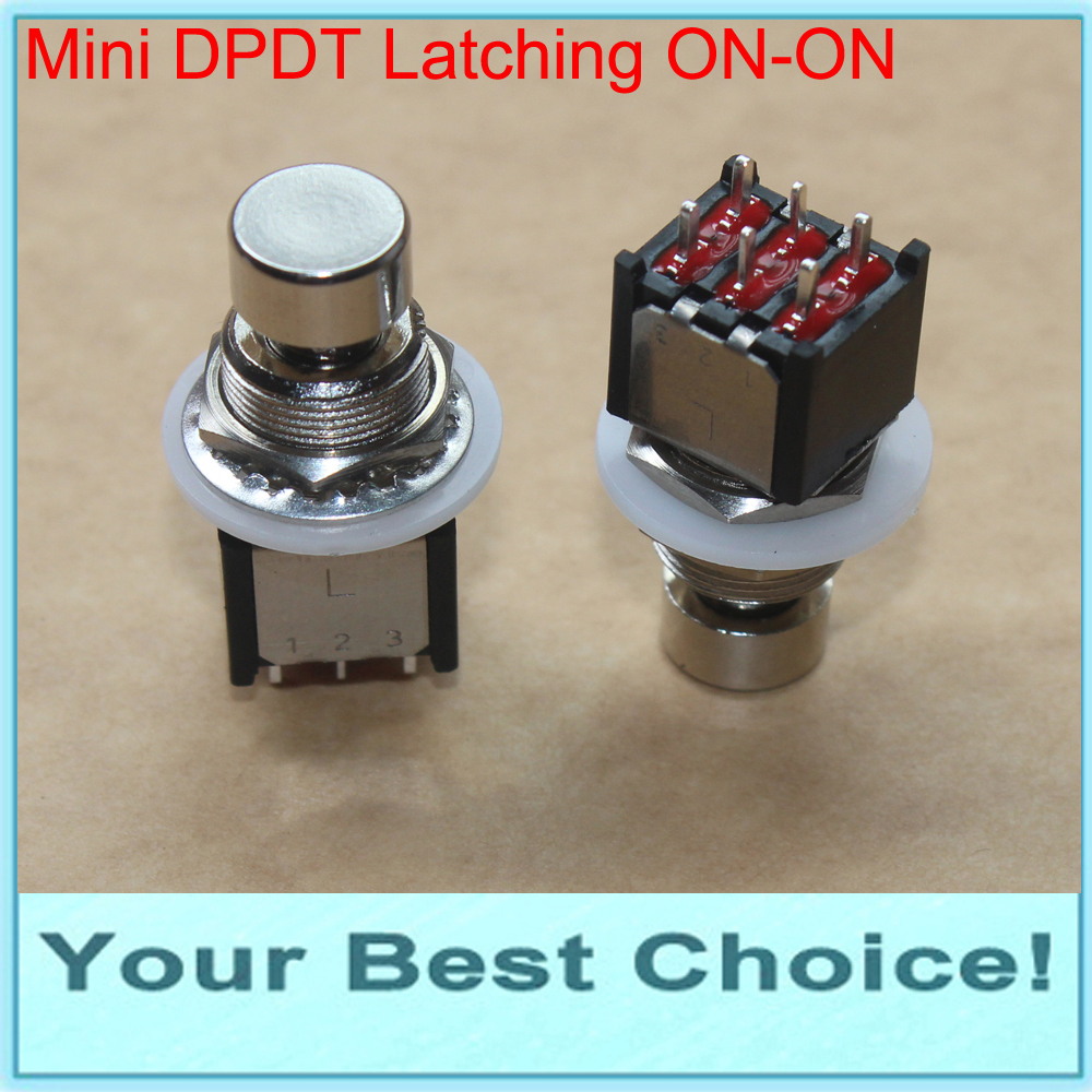 Latching Foot Switch Ideal for Guitar Effects Pedal