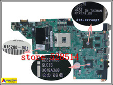 original 615280-001 for HP DV6 DV6-3000 laptop motherboard DDR3 DA0LX6MB6H1 100% Test ok