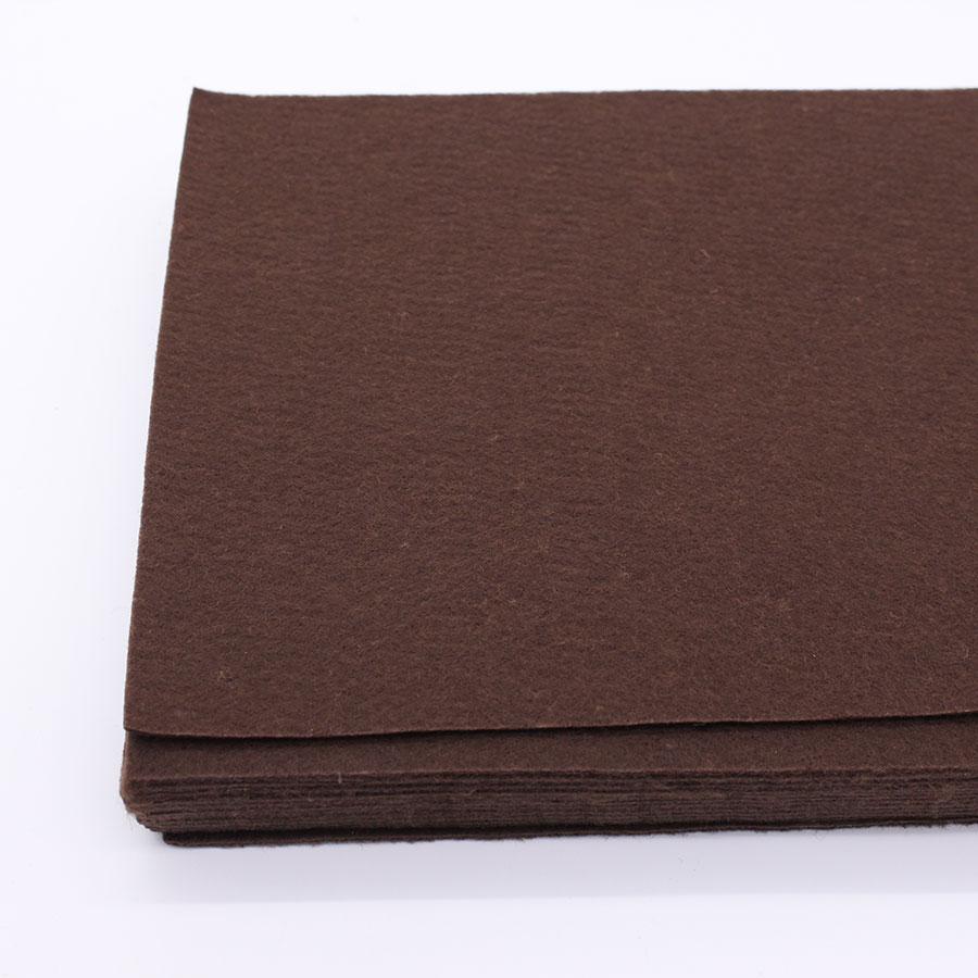 Brown Color Felt Cloth Brown 2mm Felt Fabric Polyester Fabrics Needlework Diy Needle Sewing Handmade Fieltro Feltro Entretela