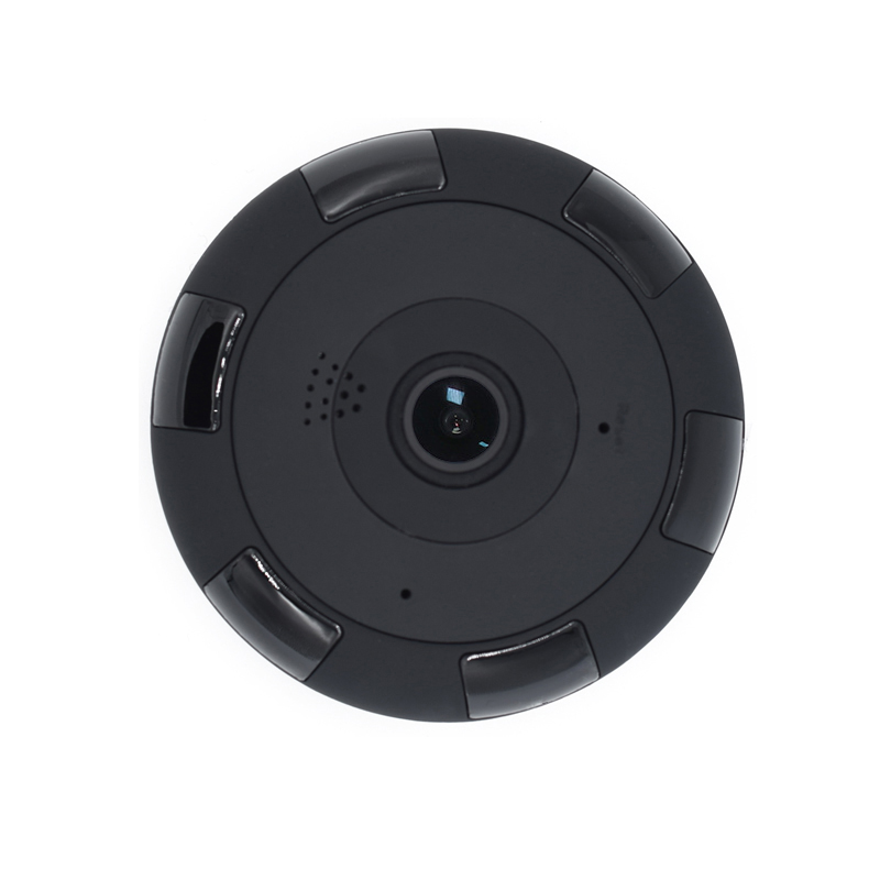 HD 960P 1080P Fisheye Panoramic 360 Degree 1.3MP 2MP VR WIFI IP Camera with 64GB TF Card slot Two-Way Audio Motion detection syarin baby monitor hd 720p 1 0mp ip camera wireless wifi two way audio motion detection alarm wifi camera tf card slot pan tilt