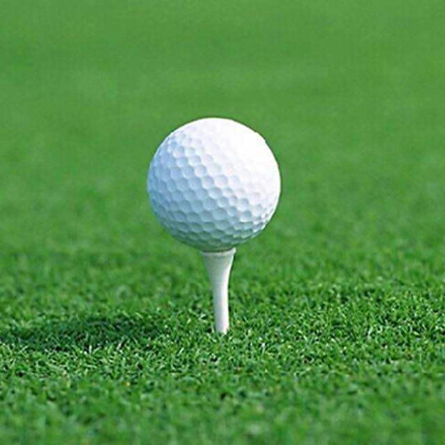12pcs/lot White Golf Practice Balls Outdoor Sports Tennis Golf trainin Plastic Round Balls Training Sports Golf Accessories New