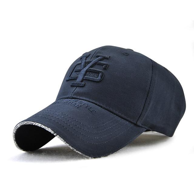 Blue Black snapback hat 5c64fe6f2aed9