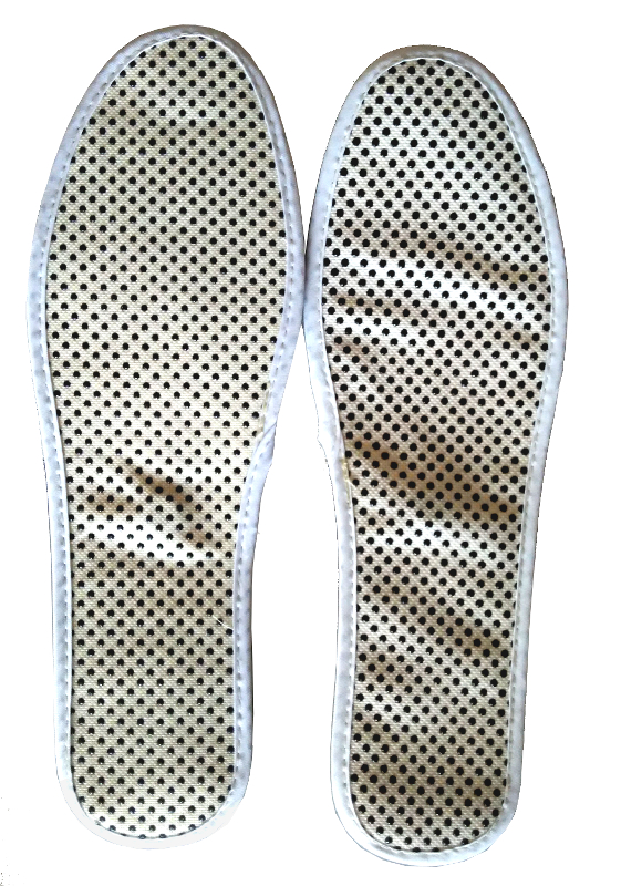 3PAIRS/LOT New Cotton Self Heat Tourmaline insole with Magnet Natural Therapy Both Sides Available