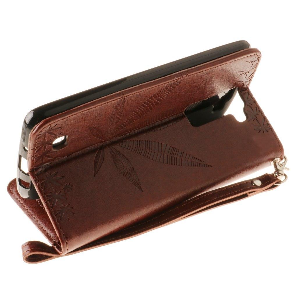 Flip Case For LG K8 LGK8 4G LTE Luxury Phone Leather Cover Protector Case For LG Phoenix 2 K350 K350N K350E K350 E LG-K350E Box