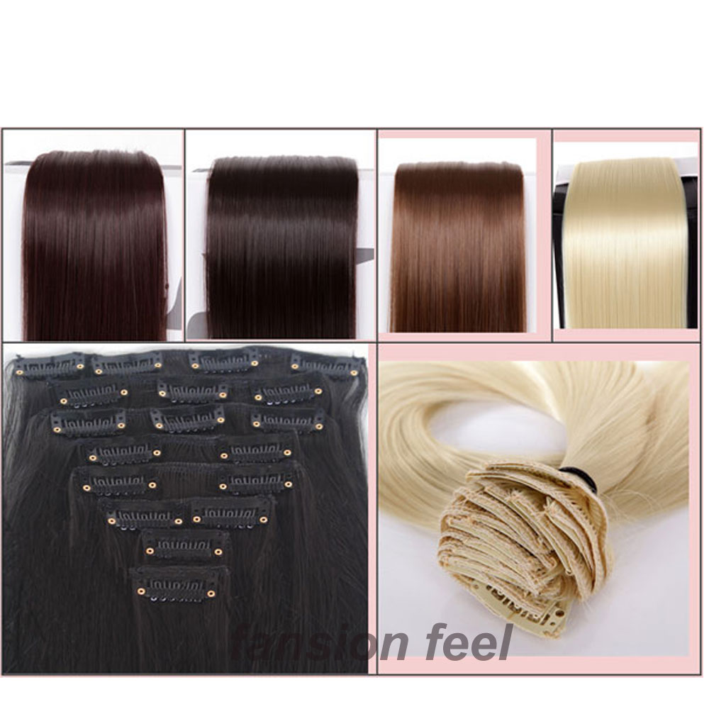 8pcsset full head clip in hair extensions longest 26 66cm 8pcsset full head clip in hair extensions longest 26 66cm straight blonde grey white red blue pink purple hair extension on aliexpress alibaba group pmusecretfo Image collections