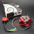 Corrida Magneto tator Corrida CDI Rotor Interno Kit Red Para 110 125 Lifan 140cc YX Pit Dirt Bike NOVA